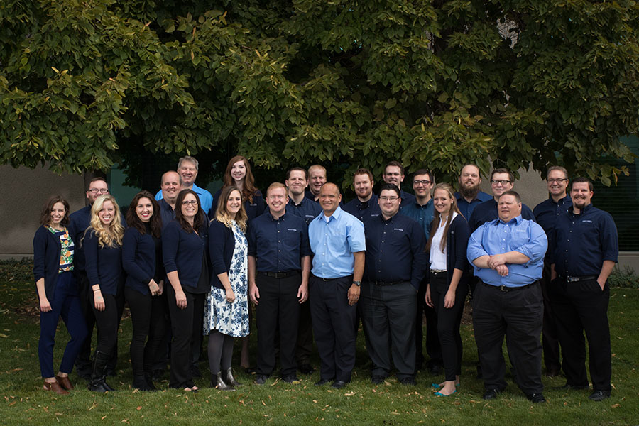 Equinox IT Services Team Group Photo